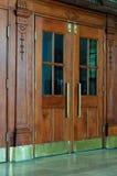 Doors Of Historical Building Stock Photos