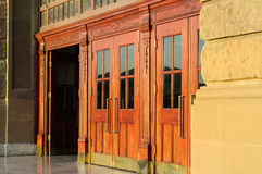 Doors Of Historical Building Stock Images