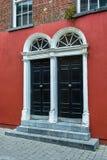 Doors of a House in Ireland Stock Photo