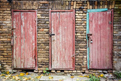 Free Doors In A Wall Stock Photos - 38813263