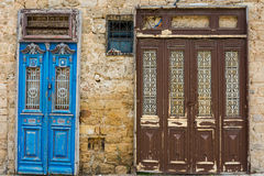 Doors in Jaffa Royalty Free Stock Image