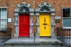 Doors in Kilkenny in Ireland Stock Photography