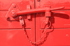 Doors locked Royalty Free Stock Images