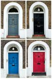 Doors from London in UK Stock Image
