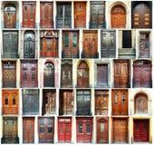 Doors - Lviv, Ukraine vector illustration