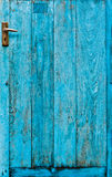 The doors made of wood Royalty Free Stock Image