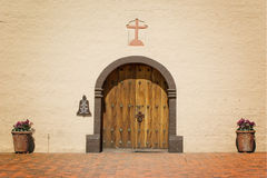 Doors Mission Santa Ynez Stock Image