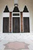 Doors of a Mosque, Brunei Stock Photography