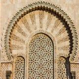 Doors in Mosque Hassan II, Casablanca, Morocco Royalty Free Stock Photos