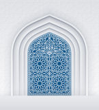 Doors of Mosque Royalty Free Stock Photos