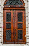 Doors of Museum of Art History Stock Images