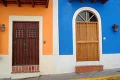 Doors in Old San Juan Stock Image