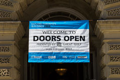 Doors Open Toronto Sign Royalty Free Stock Photo