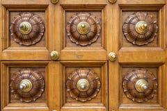 Doors ornament Stock Image