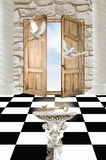 Doors in paradise Royalty Free Stock Images