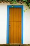 Doors in Paraty, Rio de Janeiro Royalty Free Stock Images