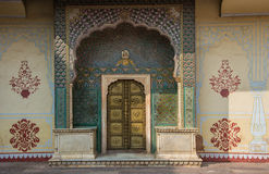 Doors of Rajasthan Royalty Free Stock Photo