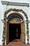 Doors in San Diego Mission Royalty Free Stock Image