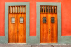 The doors of San Juan Puerto Rico. The colorful doors of San Juan Puerto Rico Royalty Free Stock Photography