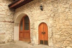 The doors of Sari-Guzel Bath in Bakhchisaray Palace (Crimea) Royalty Free Stock Photo