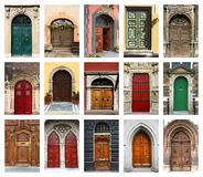 Doors set Stock Photo