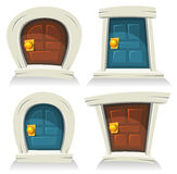 Doors Set Royalty Free Stock Photo