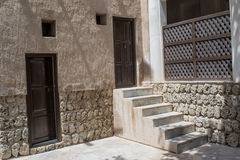 Doors and stairs Royalty Free Stock Images