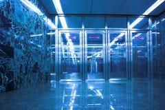 Doors in subway Stock Images