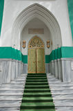 Doors in synagogue. Islamic city centre Odessa stock photo