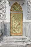 Doors in synagogue. Islamic city centre Odessa royalty free stock photo