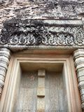 Doors of a Temple. The Creepers shown in the Tempana as also on the sides of the Doors of a Temple are indicative of prospering life. Supple & eternal royalty free stock photography