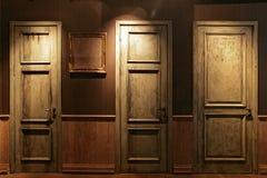 The doors Royalty Free Stock Photos