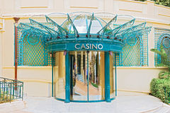 Doors to casino in Monte Carlo Stock Images