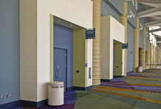 Doors to the Convention Center Stock Photo