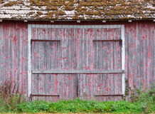 Doors to an old barn Royalty Free Stock Images
