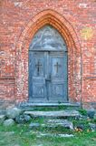 Doors to old church Royalty Free Stock Photography