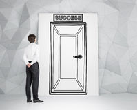 Doors to success Royalty Free Stock Images