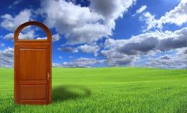 Doors To The New World Stock Photos