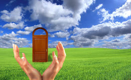 Doors To The New World Royalty Free Stock Image