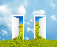 Doors To The New World Royalty Free Stock Photography