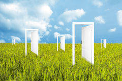 Doors To The New World Royalty Free Stock Images