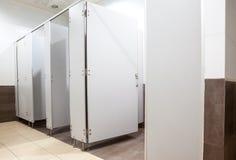 Doors from toilets Stock Photos