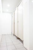 Doors from toilets Stock Images