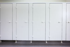 Doors from toilets Stock Image