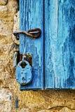 Doors of Turkey homes royalty free stock photography