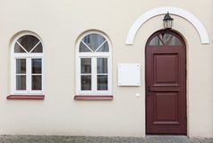 Doors and two windows Stock Photography