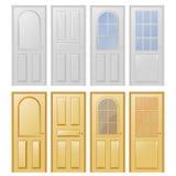 Doors Vector design Stock Images