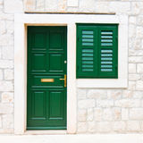 Doors and window Royalty Free Stock Photography
