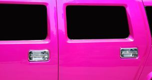 Doors and windows of the limousine Stock Photos