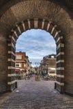 Doorschijnende Morspoort Leiden Holland royalty-vrije stock afbeeldingen